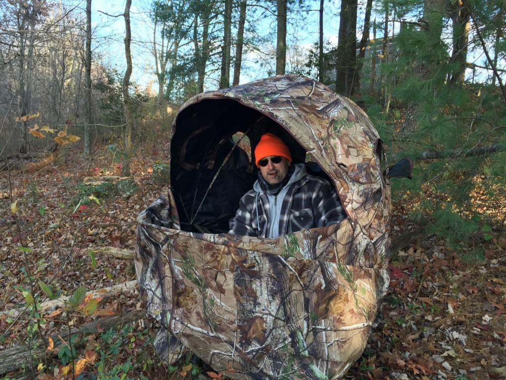 Steve in the blind